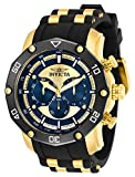 Invicta Men's Pro Diver Quartz Watch with Stainless Steel Strap, Black, 26 (Model: 30079)