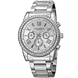 Akribos XXIV Enterprise Mens Casual Watch - Sunburst Effect Dial - Quartz Movement - Diamond -...