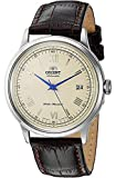 Orient Men's 2nd Gen. Bambino Ver. 2 Stainless Steel Japanese-Automatic Watch with Leather Strap,...